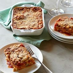 Beef Lasagna, Set of 2 #williamssonoma