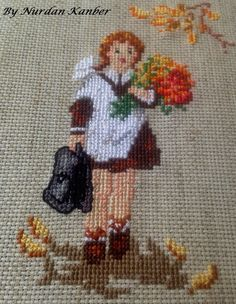 Nurdan' ın Yeri - A Cross Stitch Blog: Happy School Days ♫♫ / Şimdi Okullu Olduk ♫♫