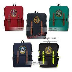 Harry Potter Gryffindor Hogwarts Slytherin Backpack Shoulder bag School Bag in Clothing, Shoes & Accessories, Women's Handbags & Bags, Backpacks & Bookbags | eBay
