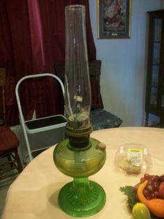 Vintage beehive Aladdin oil lamp