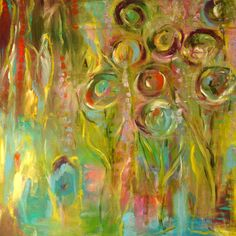 joy...Original+Abstract+painting+by+Annie+by+annielockhart+on+Etsy