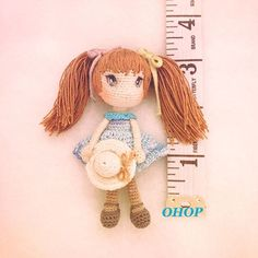 Anime style crochet doll-change skin as well as hair color ...making this type of doll for little girls up to early kindergarderner...
