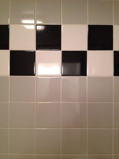 Im drawn to the patterns of the different tiles and the alternating white and blacks -p. Francis