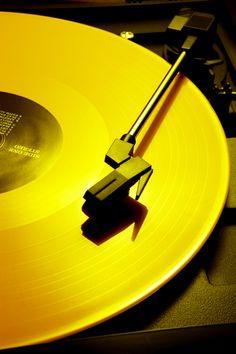 My Wonderful World. Gold vinyl. #music