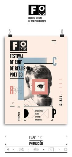 FOCO Festival by Victoria Franco, via Behance