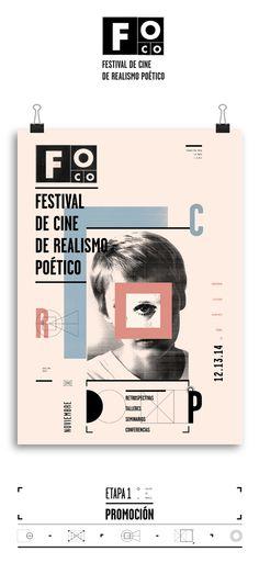 FOCO Festival by Victoria Franco, via Behance
