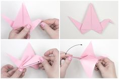 Origami Flapping Bird Tutorial: Origami Flapping Bird Instructions - Step 5
