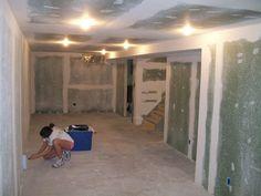 Drywall-for-Basement