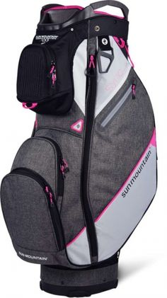 Keep your clubs organized with Black/Iron Sun Mountain Ladies 2020 Sync Golf Cart Bag. Shop this at #lorisgolfshoppe today!