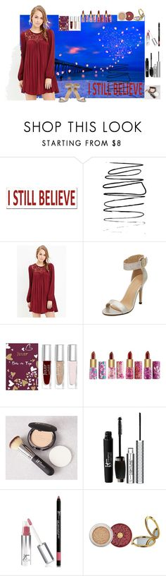 """""""You are what you believe yourself to be."""" by utitito on Polyvore featuring Sixtrees, Forever 21, WithChic, Julep, tarte, It Cosmetics and Bare Escentuals"""