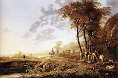 Aelbert Cuyp : Orpheus charming the animals (Museum of Fine Arts, Boston) アルベルト・カイプ Dutch Artists, Famous Artists, Great Artists, Art Magique, Kunsthistorisches Museum, Dutch Golden Age, Dutch Painters, Art Database, Oil Painting Reproductions