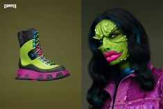 Humanized Footwear Editorials - This Camper Shoe Campaign Brings Footwear to Life (GALLERY)