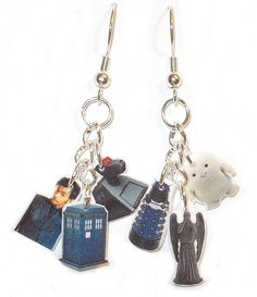 These are a bit much even for me, but soo awesome, I might change them into lots of smaller earrings