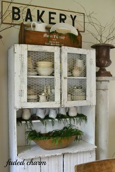 Faded Charm: ~Holiday Home Tour 2012