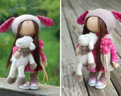 Handmade doll toy Tilda doll Interior doll от AnnKirillartPlace