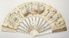 18th century ivory, linen fan (Source: The Metropolitan Museum, Gift of Mrs. Henry J. Bernheim, 1959)