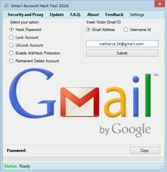 Gmail Account Hack Tool 2016 | www.HacksWork.com