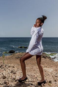 Hot Shots: To Gomes Models Hit The Cape Verdean Beaches | FashionGHANA.com: 100% African Fashion Model: Cintya Tavares