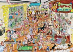 Another artist I love, have all of his puzzles.