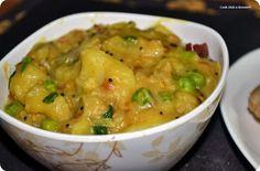 South Indian breakfast trail #1-Poori/puri masala/masal - Cook click n devour!!!