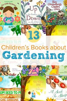 Books for kids books for toddlers and gardening on pinterest for Children s books about gardening
