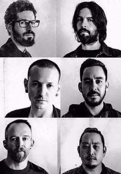 Linkin Park ( Brad Delson , Rob Bourdon , Chester Bennington , Mike Shinoda , Dave Farrell , Joe Haln )