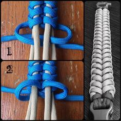 paracord Official tutorial Government Knot Buying Baby Clothes Online Article Body: Today's parents Paracord Braids, Paracord Bracelets, Paracord Tutorial, Bracelet Tutorial, Rope Crafts, Paracord Projects, The Knot, Macrame Knots, Survival