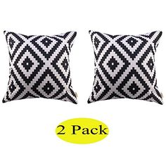 Swity Home[2 pack] White and black Series Geometry Polyes... https://smile.amazon.com/dp/B01C6XHU6K/ref=cm_sw_r_pi_dp_x_pBx5ybSWXKA09
