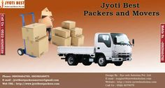 Jyoti Best And Full Safety Packers And Movers Service are also one of them well known Company in Moving And Packing trade to focus in Moving & Packing Services in India.Call- 9839464760
