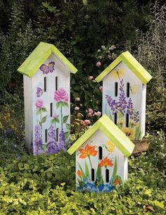 Project Download: Butterfly Houses   Gardener's Hub