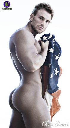 """sexartist67: """"Beautifully done Chris Evans """""""