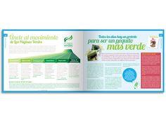 Diseño editorial - Stop Diseño Gráfico - Diseño de Interiores del Directorio de Las Páginas Verdes 2013.