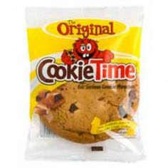 Cookie Time cookies are big New Zealand made with real eggs, butter, chocolate - so they taste like the thing! Big Cookie, Cookie Time, Individually Wrapped Cookies, Meal Replacement Bars, New Zealand Food, Chocolate Chunk Cookies, Pavlova, Pop Tarts, Snack Recipes