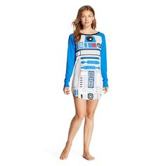Disney Star Wars R2D2 Sleepshirt Blue - $19.99 - target.com