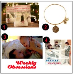 "Week 129: For Your Mistle-Toes!, A Charming Bracelet, How to Fight a Baby, ""In My Life"" – The Beatles"