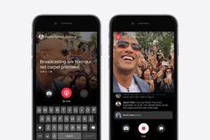Facebook Live vídeo en directo para seguir personalidades