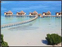 Fiji - how cool to sleep in that beautiful water!