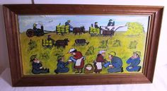 EMILY LUNDE LISTED ARTIST FOLK ART NORTH DAKOTA FARMING    eBay