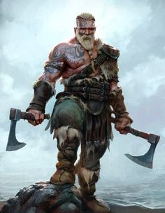 This store created for those person who love vikings. And if you are a viking lover then you can make order for a viking t shirt. Fantasy Warrior, Fantasy Rpg, Medieval Fantasy, Fantasy Artwork, Viking Warrior, Viking Axe, Dnd Characters, Fantasy Characters, Fantasy Character Design