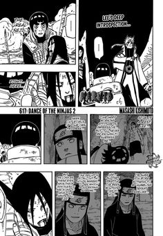 Naruto Chapter 617 - Such a beautiful chapter... =')