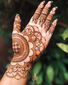 Mehandhi Designs, Floral Henna Designs, Henna Tattoo Designs Simple, Latest Bridal Mehndi Designs, Mehndi Designs 2018, Modern Mehndi Designs, Henna Art Designs, Mehndi Designs For Beginners, Wedding Mehndi Designs