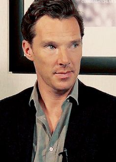 Just look at his reaction face! | 31 Reasons We're Addicted To Benedict Cumberbatch<<guilty as charged