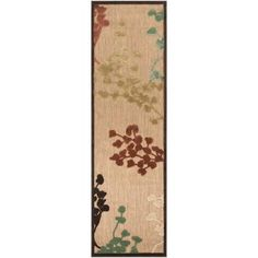Artistic Weavers - Tariba Natural Olefin Indoor/Outdoor Runner - 2 Ft. 6 In. x 7 Ft. 10 In. Area Rug - Tariba-A - Home Depot Canada