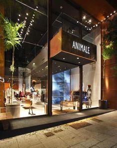 adcbf76c106 Fachadas de Lojas Comerciais Modernas - 20 Fotos inspiradoras