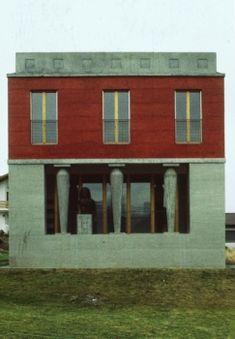 Haus Kuehnis, Peter Märkli. Trüebbach/Azmoos, Switerland, 1982.