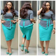 Gorgeous and Stylish Outfits for Every Woman - iFashy Classy Work Outfits, Office Outfits, Classy Dress, Stylish Outfits, Fashion Outfits, Office Uniform, Outfit Work, Outfit Ideas, Latest African Fashion Dresses
