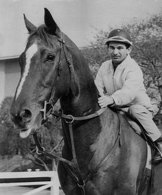 Candy Spots with Willie Shoemaker aboard  Winner of the 1964 Preakness Stakes, Jersey Derby, Florida Derby, Santa Anita Derby, American Derby, and Arlington Classic