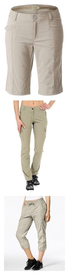 """""""Hiking Pants"""" by kerrimae ❤ liked on Polyvore featuring shorts, soapstone, royal robbins, pocket shorts, stretch shorts, travel shorts, royal robbins shorts, adidas, moonstruck and the north face"""