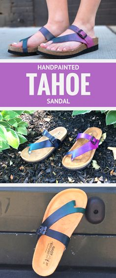 Our top selling sandal just got a a whole lot brighter with two new colorful hues just in time for summer!