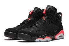 """0feed36cae1d Air Jordan 6 Retro AJ6 """"Black Infrared"""" 384664-023"""
